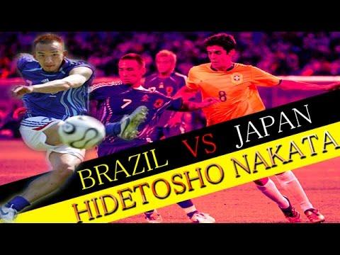 【動画あり】日本代表の中田英寿一人vsブラジル代表ww