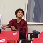 日本代表うっちーこと内田篤人が結婚指輪をはめ鹿島戦をスタンド観戦??古巣アントラーズへの愛は結婚後も変わりません(笑)