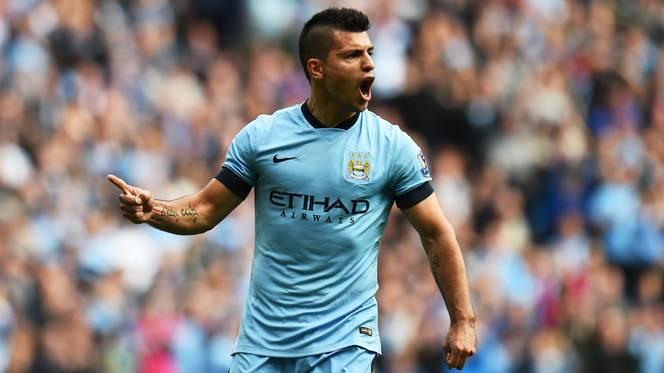 720p-Sergio Aguero Manchester City Champions League