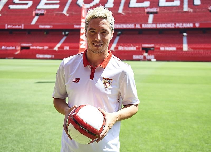 Sevilla FC Unveil New Signing Samir Nasri